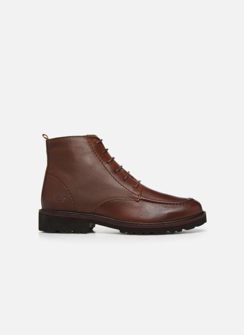 Boots en enkellaarsjes Kickers RUBYLACE Bruin achterkant