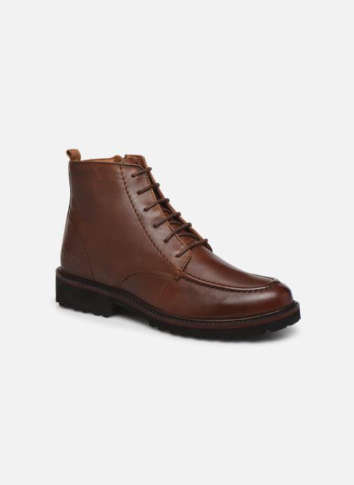 Ankelstøvler Kickers RUBYLACE Brun detaljeret billede af skoene