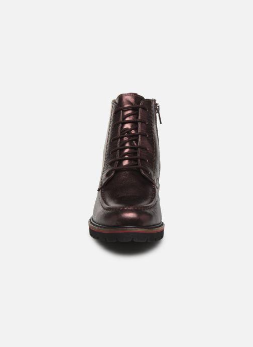 Kickers RUBYLACE (Violet) Bottines et boots chez Sarenza