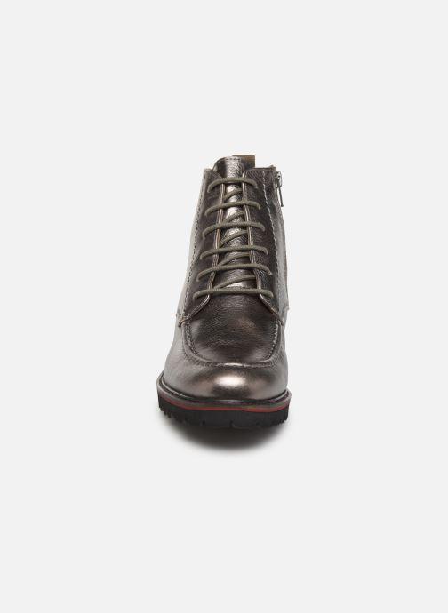 Bottines et boots Kickers RUBYLACE Argent vue portées chaussures