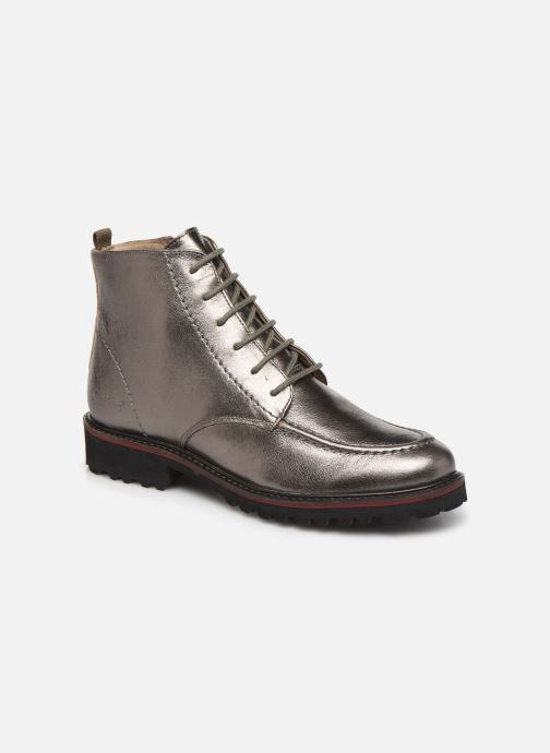 Bottines et boots Kickers RUBYLACE Argent vue détail/paire