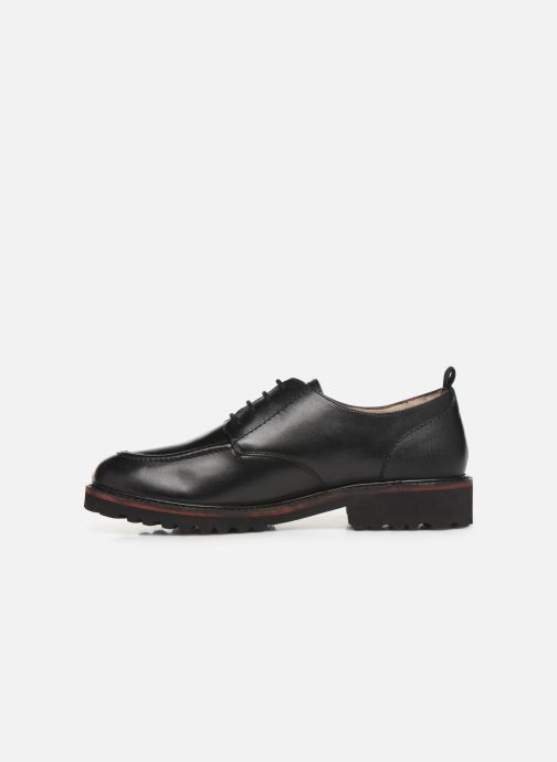 Zapatos con cordones Kickers RUDORA Negro vista de frente