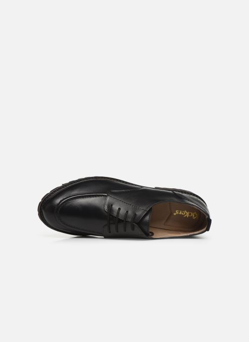Zapatos con cordones Kickers RUDORA Negro vista lateral izquierda