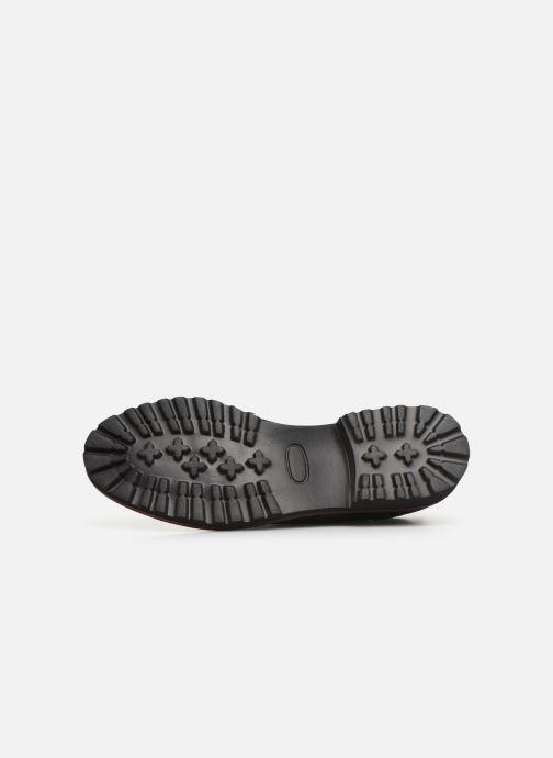Zapatos con cordones Kickers RUDORA Negro vista de arriba