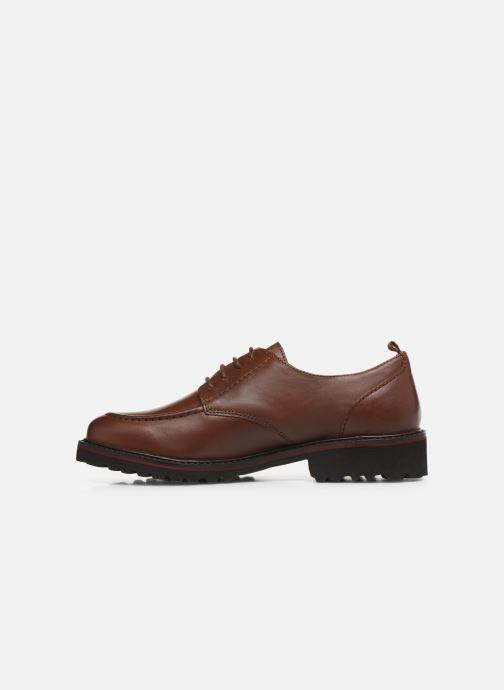Chaussures à lacets Kickers RUDORA Marron vue face