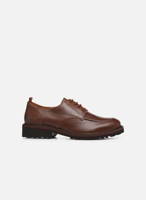 Chaussures à lacets Kickers RUDORA Marron vue derrière