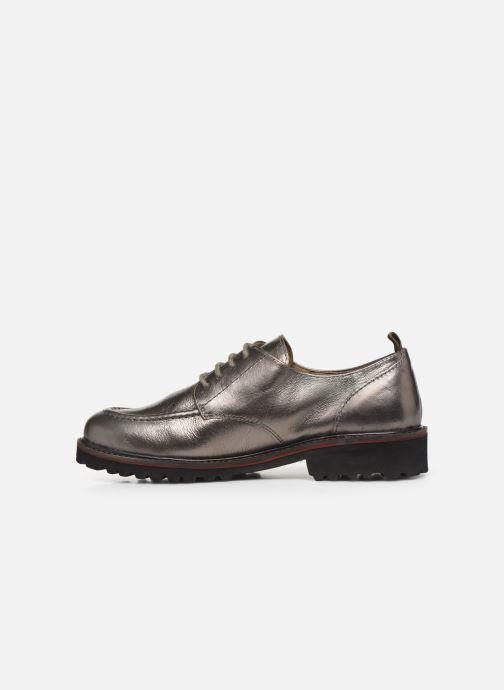 Chaussures à lacets Kickers RUDORA Argent vue face