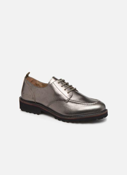 Zapatos con cordones Kickers RUDORA Plateado vista de detalle / par