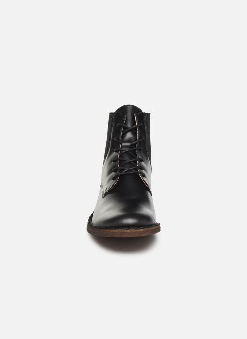 Bottines et boots Kickers TITI NEW Noir vue portées chaussures