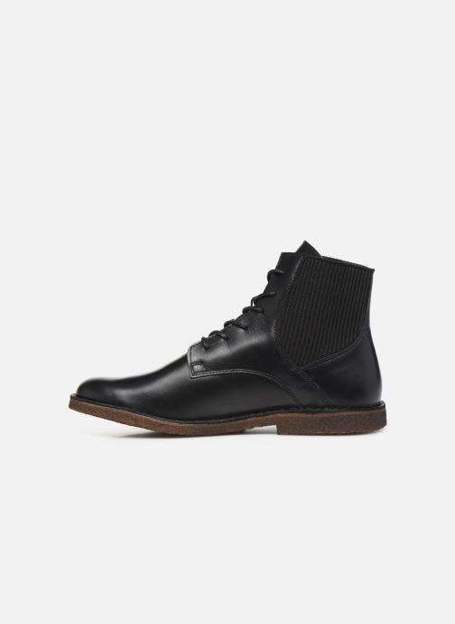 Bottines et boots Kickers TITI NEW Noir vue face