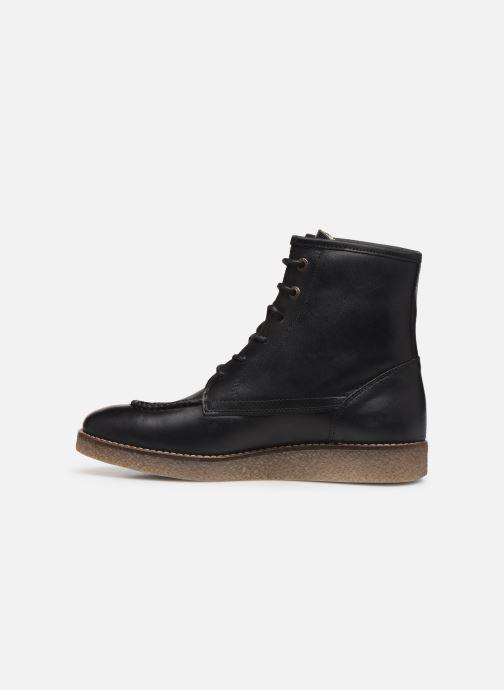 Stiefeletten & Boots Kickers ZENZOU schwarz ansicht von vorne