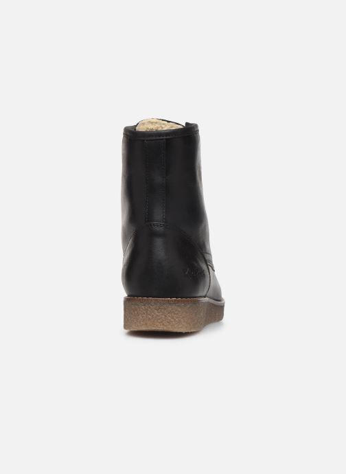 Stiefeletten & Boots Kickers ZENZOU schwarz ansicht von rechts
