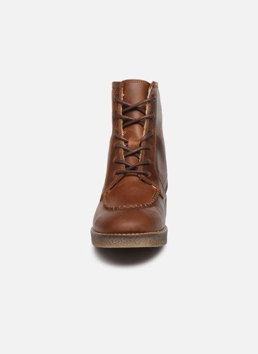 Bottines et boots Kickers ZENZOU Marron vue portées chaussures