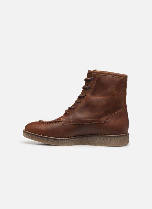 Bottines et boots Kickers ZENZOU Marron vue face