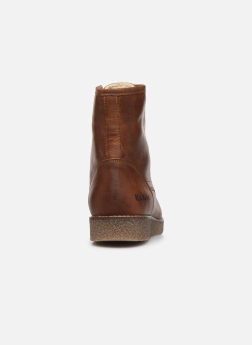 Bottines et boots Kickers ZENZOU Marron vue droite