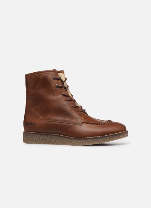 Bottines et boots Kickers ZENZOU Marron vue derrière