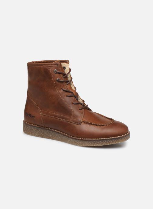 Bottines et boots Kickers ZENZOU Marron vue détail/paire