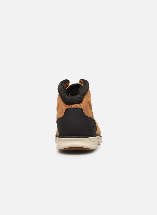 Chaussures de sport Timberland Bradstreet Hiker Beige vue droite