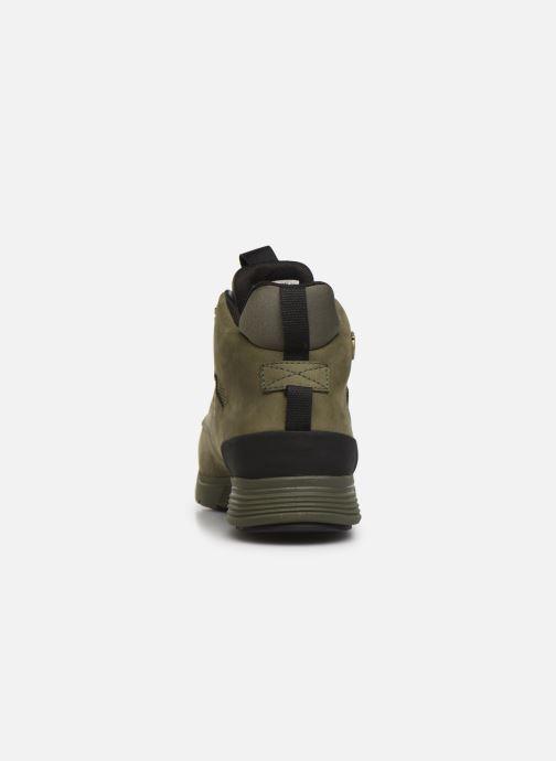 Boots en enkellaarsjes Timberland Killington Hiker Chukka Groen rechts