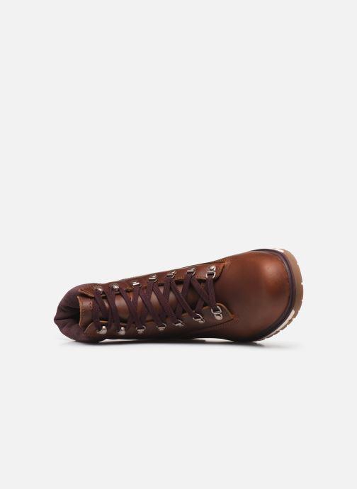 "Bottines et boots Timberland Radford 6"" D-Rings Boot Marron vue gauche"