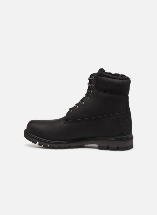 Bottines et boots Timberland Radford Warm LinedBoot WP Noir vue face
