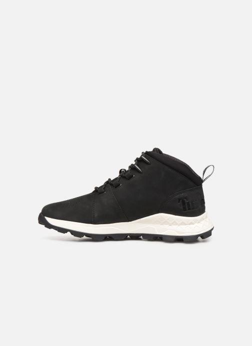 Trainers Timberland Brooklyn City Mid Black front view
