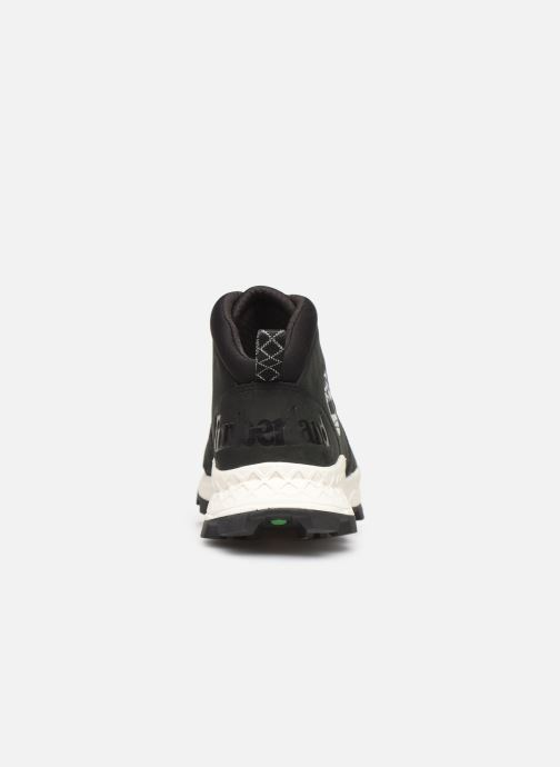 Trainers Timberland Brooklyn City Mid Black view from the right