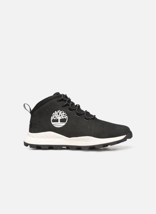 Sneaker Timberland Brooklyn City Mid schwarz ansicht von hinten