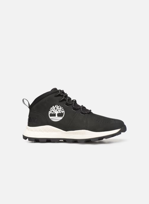 Trainers Timberland Brooklyn City Mid Black back view