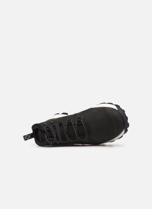 Sneaker Timberland Brooklyn City Mid schwarz ansicht von links