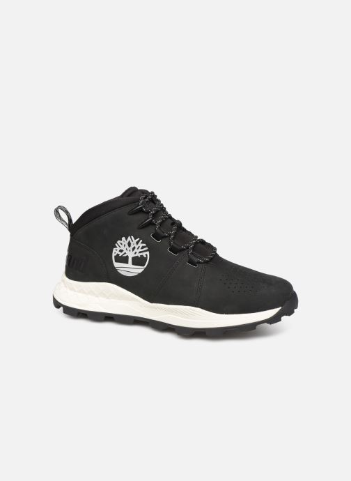 Trainers Timberland Brooklyn City Mid Black detailed view/ Pair view