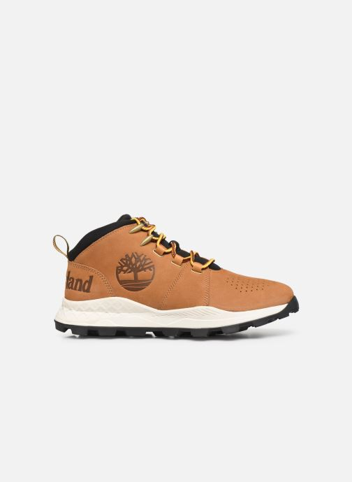 Baskets Timberland Brooklyn City Mid Marron vue derrière