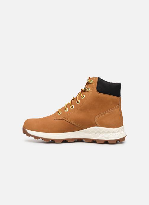 Boots en enkellaarsjes Timberland Brooklyn 6 inch Boot Bruin voorkant
