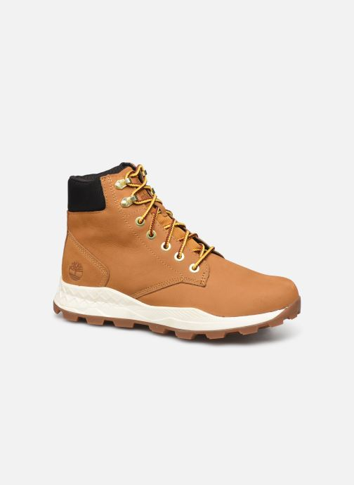 Bottines et boots Timberland Brooklyn 6 inch Boot Marron vue détail/paire