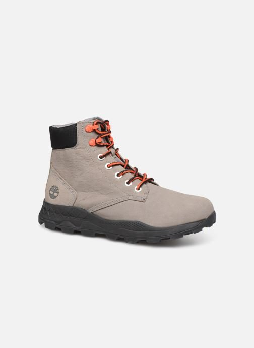 Bottines et boots Timberland Brooklyn 6 inch Boot Gris vue détail/paire