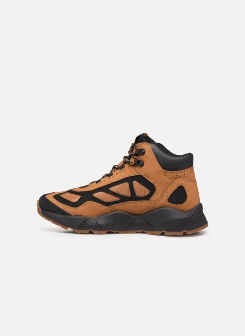 Sneakers Timberland Ripcord Mid Hiker Bruin voorkant