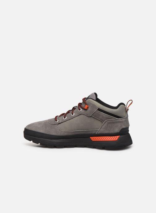Sneaker Timberland Field Trekker Low grau ansicht von vorne