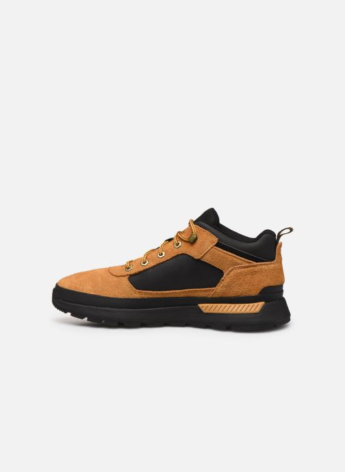Sneakers Timberland Field Trekker Low Bruin voorkant