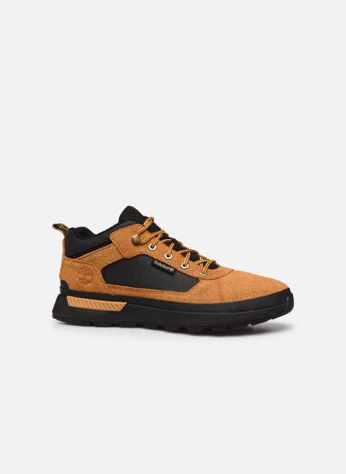 Sneakers Timberland Field Trekker Low Bruin achterkant