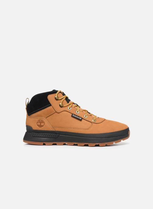Sneakers Timberland Field Trekker Mid Bruin achterkant