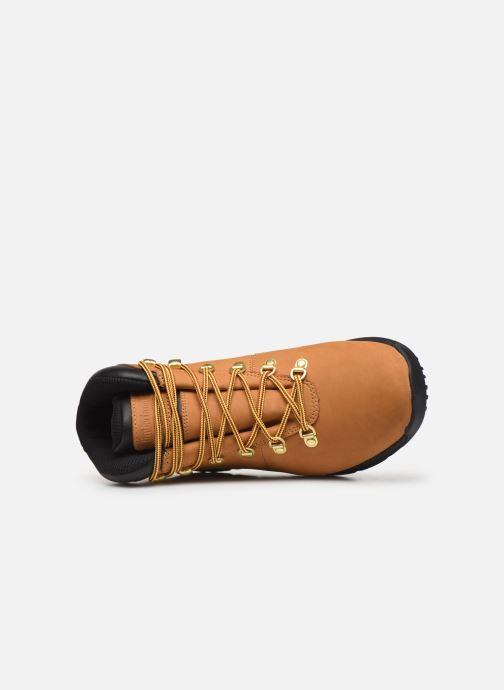 Chaussures de sport Timberland World Hiker Mid H Marron vue gauche