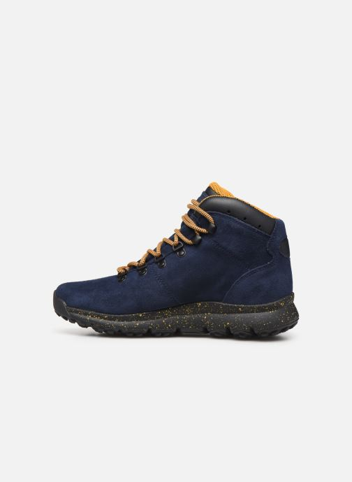 Zapatillas de deporte Timberland World Hiker Mid H Azul vista de frente