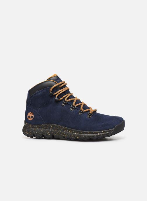 Zapatillas de deporte Timberland World Hiker Mid H Azul vistra trasera