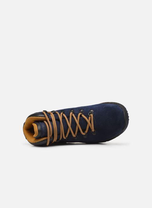 Zapatillas de deporte Timberland World Hiker Mid H Azul vista lateral izquierda