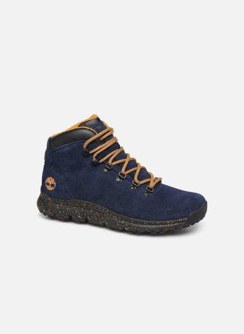 Zapatillas de deporte Timberland World Hiker Mid H Azul vista de detalle / par