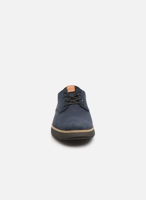 Sneakers Timberland Cross Mark PT Oxford Azzurro modello indossato