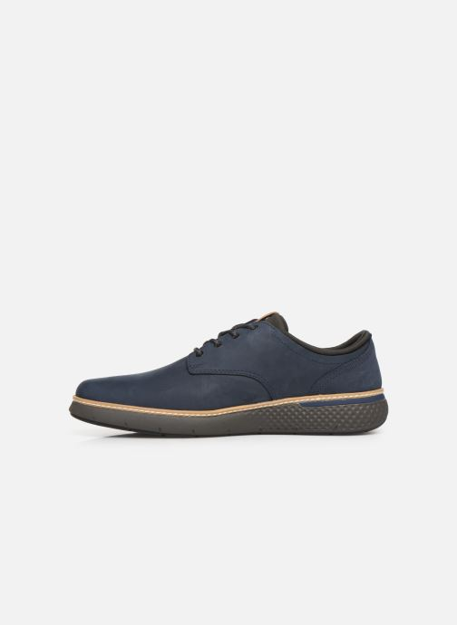 Sneakers Timberland Cross Mark PT Oxford Azzurro immagine frontale