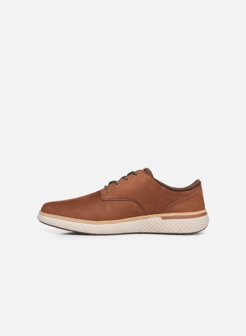 Sneakers Timberland Cross Mark PT Oxford Marrone immagine frontale