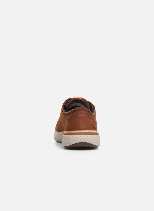 Trainers Timberland Cross Mark PT Oxford Brown view from the right