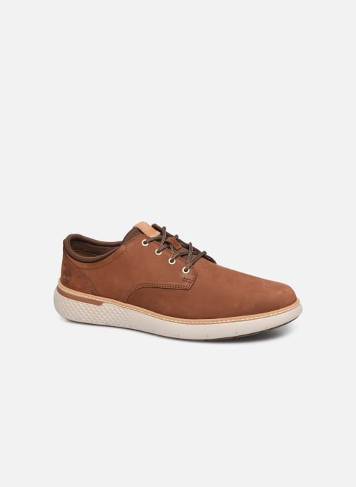 Baskets Timberland Cross Mark PT Oxford Marron vue détail/paire